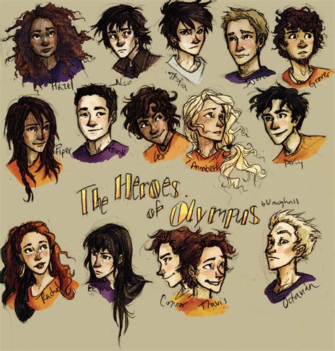 The Heroes Of Olympus fanart for the heroes of olympus the heroes of olympus