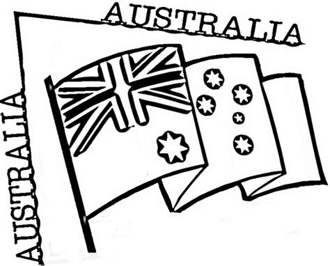 Australia Day Coloring Pages For Kids Family Holiday Net Australia Day Coloring Pages
