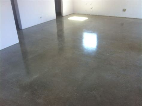 Sealed Garage Floor by Image Gallery How Seal Concrete Floor