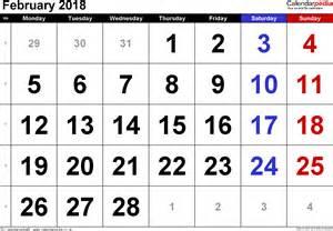 Calendar 2018 Aprilie Calendar February 2018 Uk Bank Holidays Excel Pdf Word