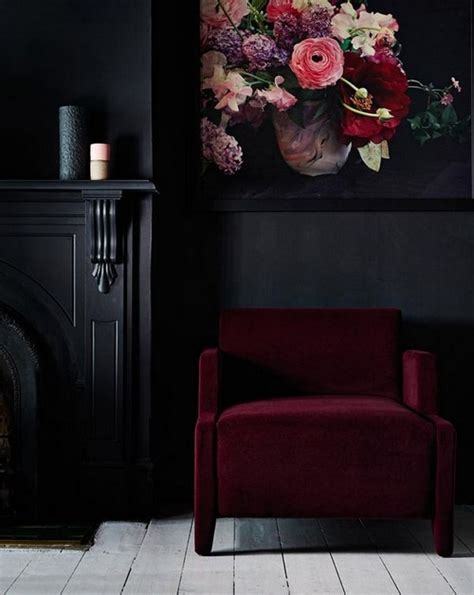 black wall designs 2016 velvet trend in interior design 24 photos messagenote