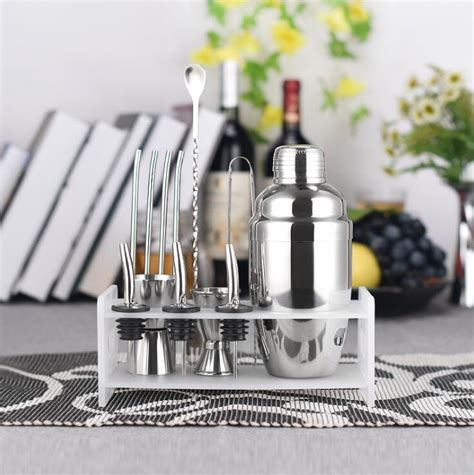 barware set premium shaker barware set stainless bar cocktail shaker