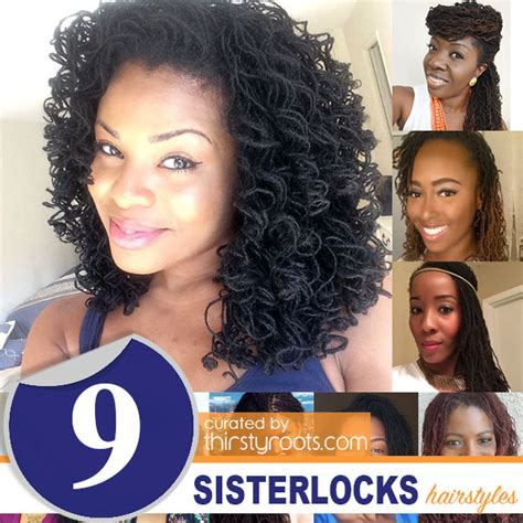 Locks And Locks Of Hairstyles by 9 Sisterlocks Hairstyles That Will Intrigue You To Lock