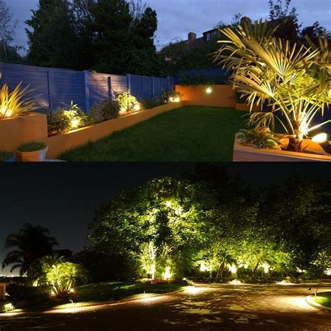 landscape lighting 24v zuckeo 5w led landscape lights 12v 24v waterproof garden path lights warm white walls trees
