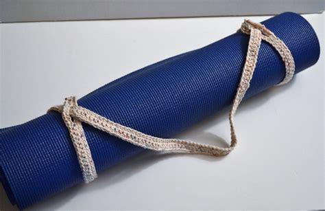 pattern for yoga mat strap crochet pattern yoga mat strap dancox for