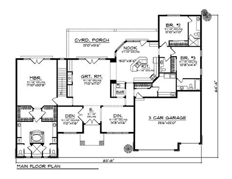 Bungalow House Plans   at Dream Home Source   Bungalow