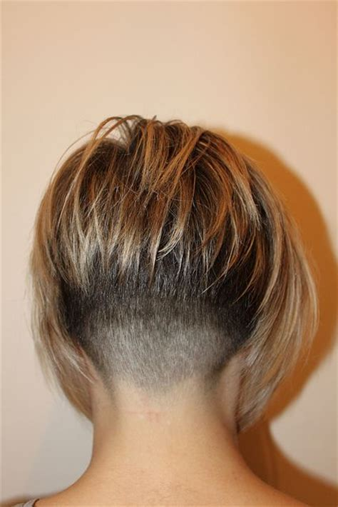 short stacked bob haircut shaved best 25 shaved nape ideas on pinterest undercut shaved