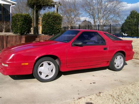 blue book value used cars 1984 dodge daytona head up display 1991 dodge daytona red 200 interior and exterior images