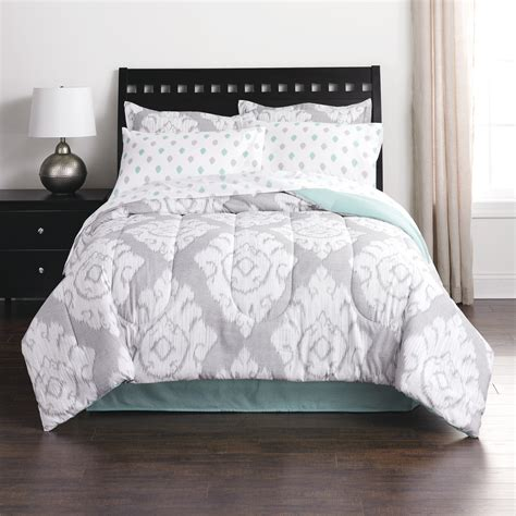 full comforters colormate complete bed set ikat flouris