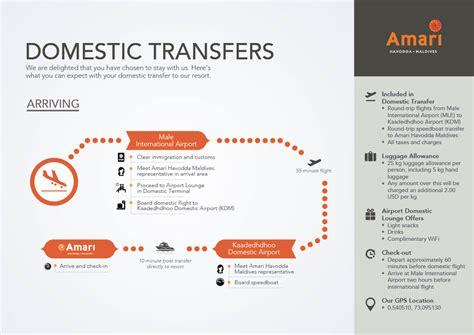 domestic transfer location amari havodda maldives