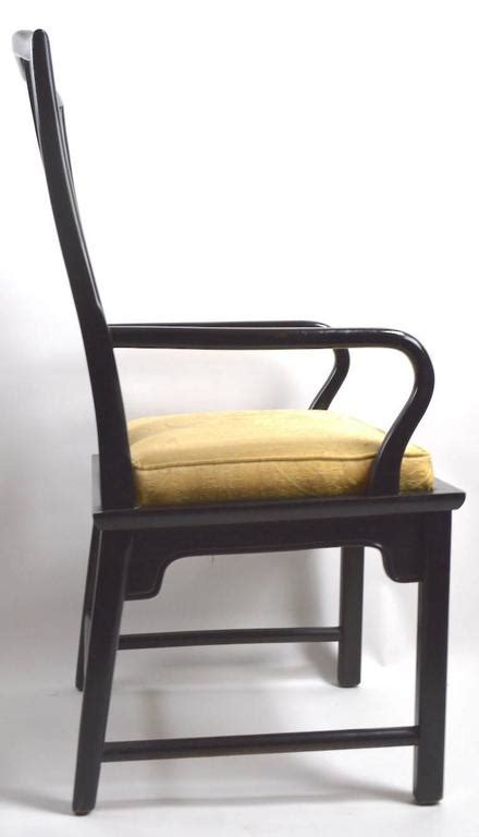 set of eight modern lacquered italian dining chairs at 1stdibs set of eight chin hua dining chairs in black lacquer