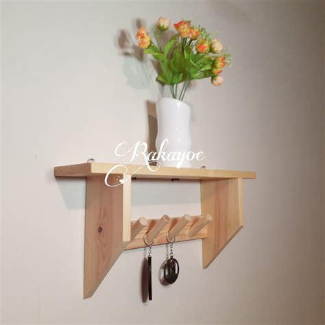 jual rak dinding dekorasi ruang kayu jati belanda  lapak