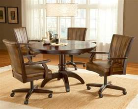 Swivel Dining Room Chairs With Casters Dining Room Chairs Casters Sets