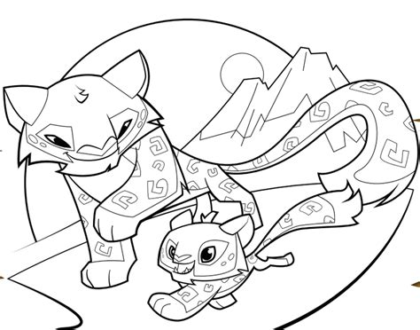 coloring pages for animal jam free coloring pages of animal jam