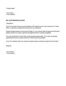 template delinquent letter