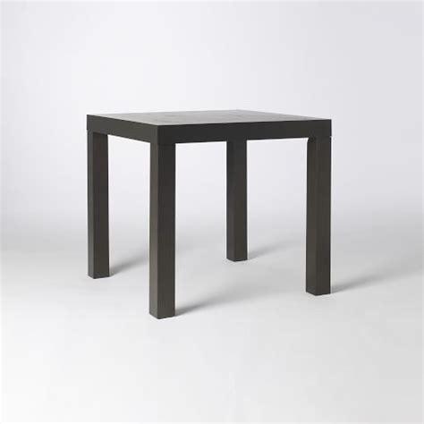 west elm parsons square dining table 32 quot sq seats 4 299
