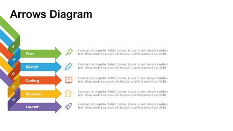 arrow diagram segmented arrow diagrams powerslides