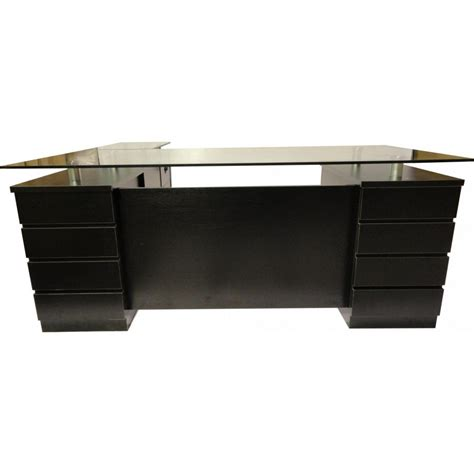 Office Desk Black Black Office Desk Suited In Every Office Designinyou Decor