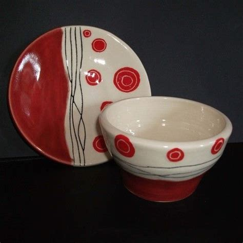 Ceramic Bowl Plate spotted ceramic plate and bowl set plates and