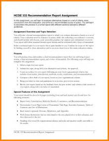 recommendation report template 5 formal recommendation report target cashier