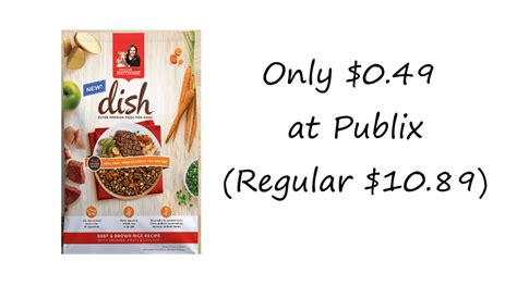 printable rachael ray dog food coupons rachael ray nutrish dish dog food only 0 49 at publix