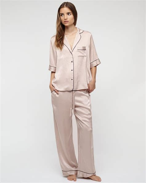 Silk Pajamas silk pyjamas lounge wear aw15 pyjamas