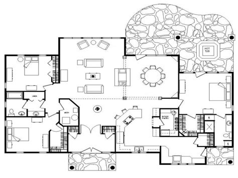 floor plans for ranch houses log home floor plans ranch floor plans log homes log