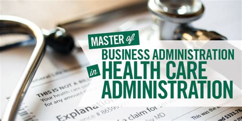 Cleveland State Mba Requirements by Health Care Administration Mba Cleveland State