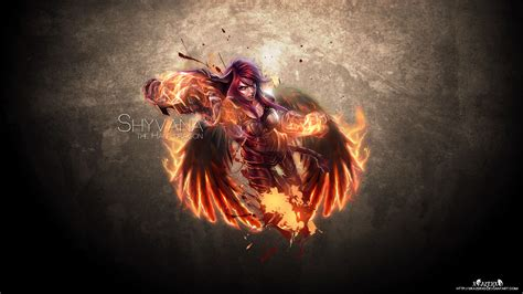 League Of Legends 11 Bv shes a with wings iron scale shyv wp by