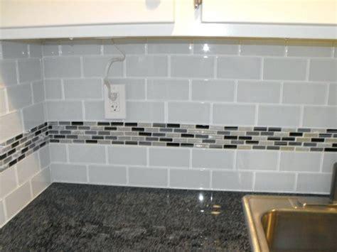 tiles grey tile backsplash kitchen white subway tile