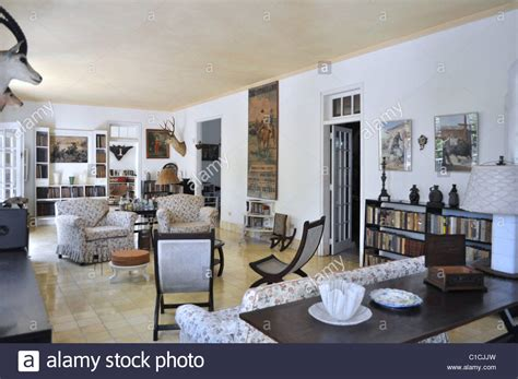 ernest hemingway house finca la vigia ernest hemingway house the living room