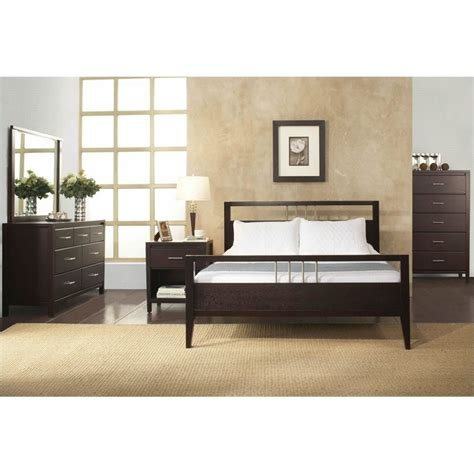 Modus Furniture Nevis Tropical Mahogany Platform Bed 3 Modus Bedroom Furniture