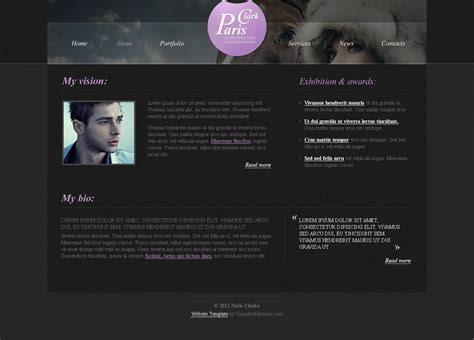 bootstrap templates for photographers top 10 free photography website bootstrap template of all time