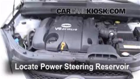 Kia Forte Power Steering Problems Engine Light Is On 2007 2010 Kia Rondo What To Do