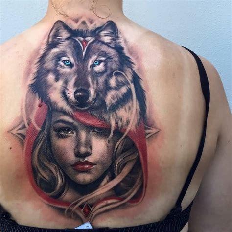 46 unique wolf head tattoos ideas