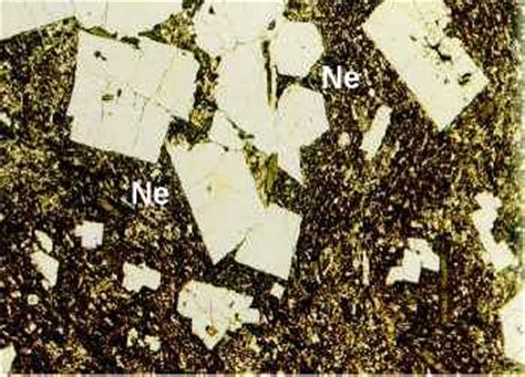 sodalite in thin section phonolites phonolite english