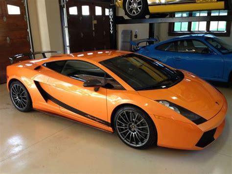 Lamborghini For Sale Denver Buy Used 2008 Lamborghini Superleggera Arancio Borealis