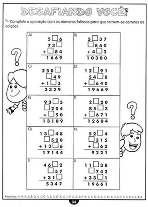.: Atividades de Matemática 4º e 5º ano