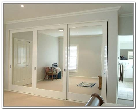 Ideas For Mirrored Closet Doors Sliding Mirror Closet Door Pulls For The Home