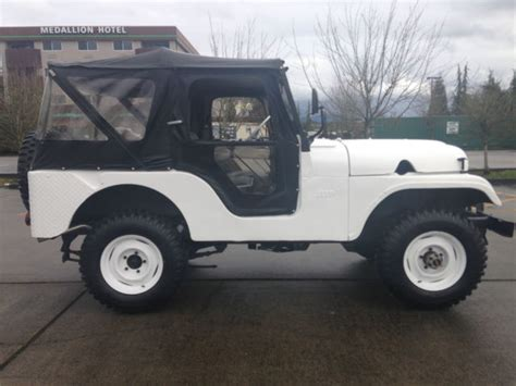 sle of i 134 1958 jeep willys cj 5 f l 134 for sale in arlington
