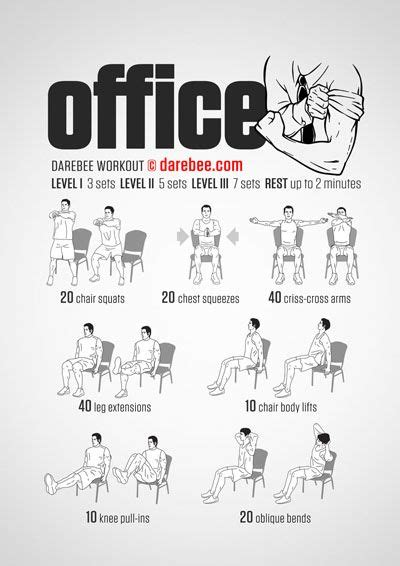chair exercises at work for stomach 96 best images about darebee workouts on bruce
