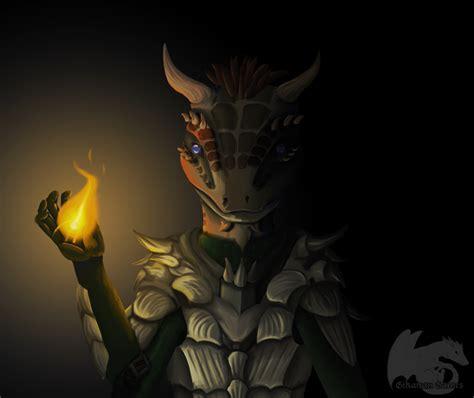 Skyrim Argonian Fan Art | skyrim argonian by gikairangames on deviantart
