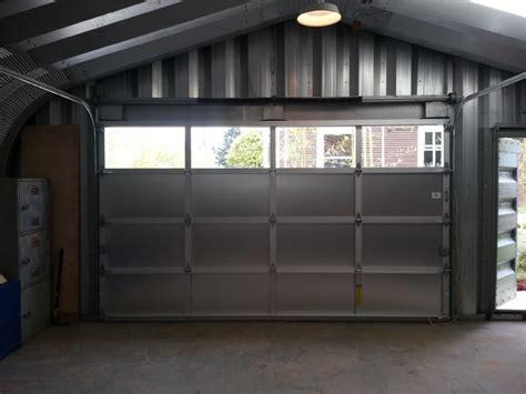 Aluminum Overhead Door Kal Aluminum Garage Door Contemporary Shed Portland By Metro Overhead Door Inc