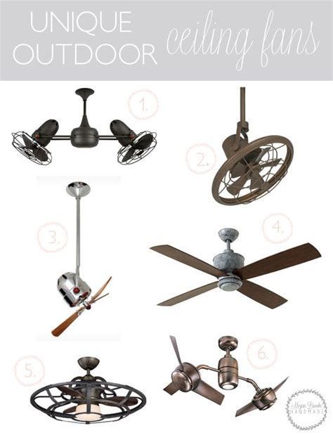 cool outdoor ceiling fans unique outdoor ceiling fans patio covered patios and