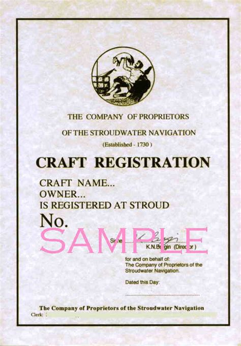 how to trace boat registration numbers company of proprietors of the stroudwater navigation