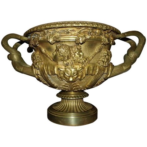 Warwick Vase by Antique Warwick Vase Model In Bronze For Sale At 1stdibs