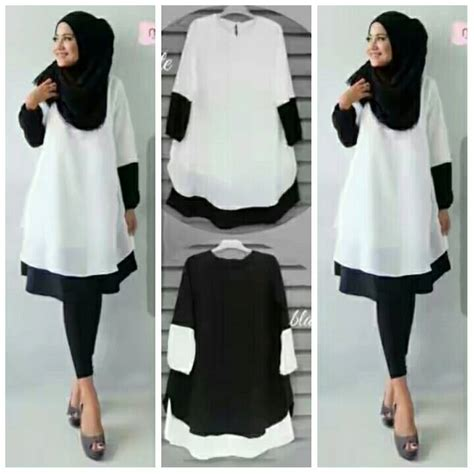Mauza Set Baju Atasan Pashmina Busana Muslim Dress Maxi jual harga baju atasan muslim wanita dress gamis