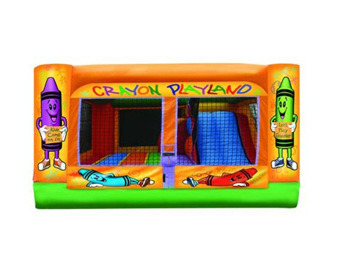 jump house near me crayola playland 3 in 1 combo bounce