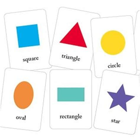printable flash cards shapes basic printable shapes flash cards teaching preschool