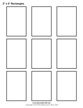 3in x 5 in card template rectangle templates blank shape templates free